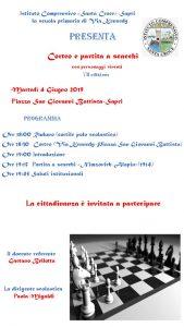 Corteo e partita a scacchi - VII edizione