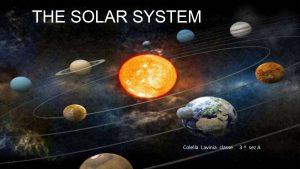 THE SOLAR SYSTEM foto